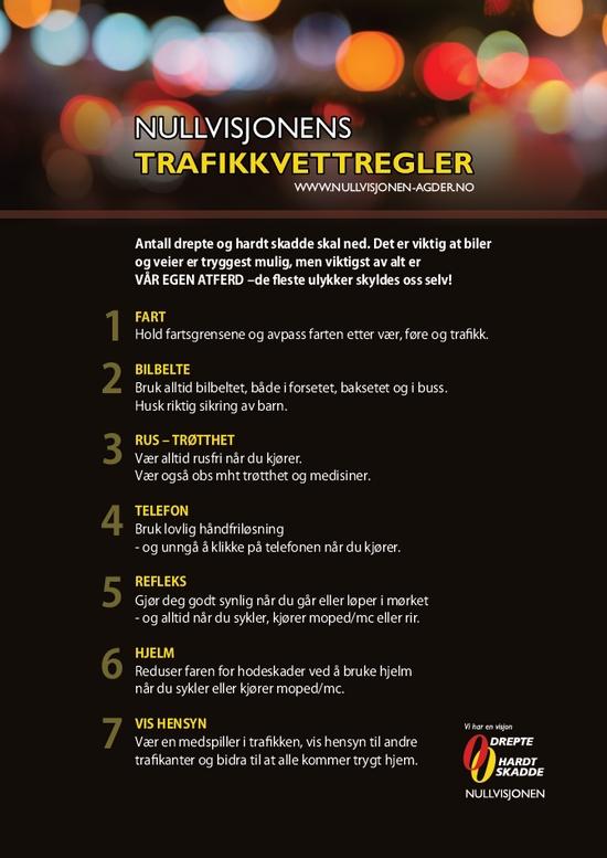 trafikkvettregler
